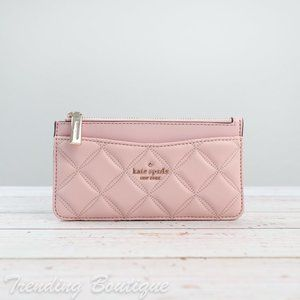 NWT Kate Spade Natalia Quilted Slim Card Holder
